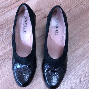 Anyi Lu Pumps Black Size 38.5